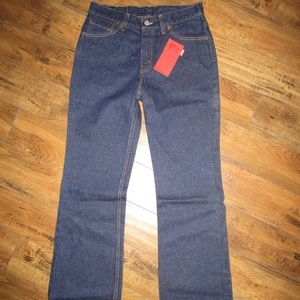 NWT Levis 517 bootcut slim fit low rise